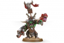 Warboss with Attack Squig