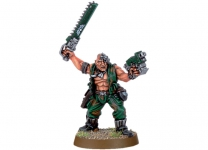 Catachan Officer with Chainsword
