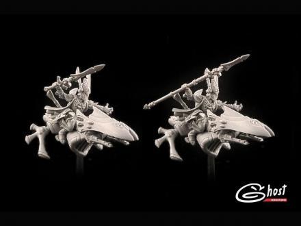 Sci-Fi Jetbikers, Type F (alone model)