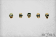 Ash Junkers heads (10)