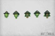 Ashigaru Heads (10)