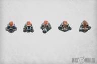 Biohazard Heads (10)