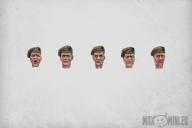 Commando Heads (10)
