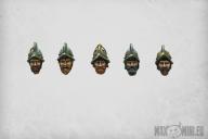 Conquistador Heads (10)
