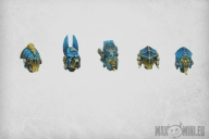 Mecha Egyptian Helmets (10)