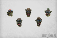 Orc Bikers Heads (10)