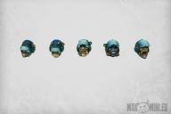 Space Police Helmets (10)