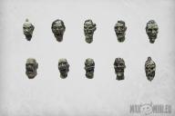 Zombie Heads (10)