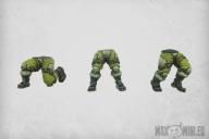 Combat Armour Legs (6)