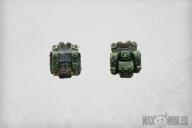 Combat Armour Torsos (5)