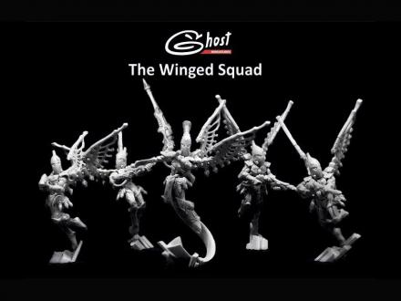 The Winged Squad (1 + 4 models)